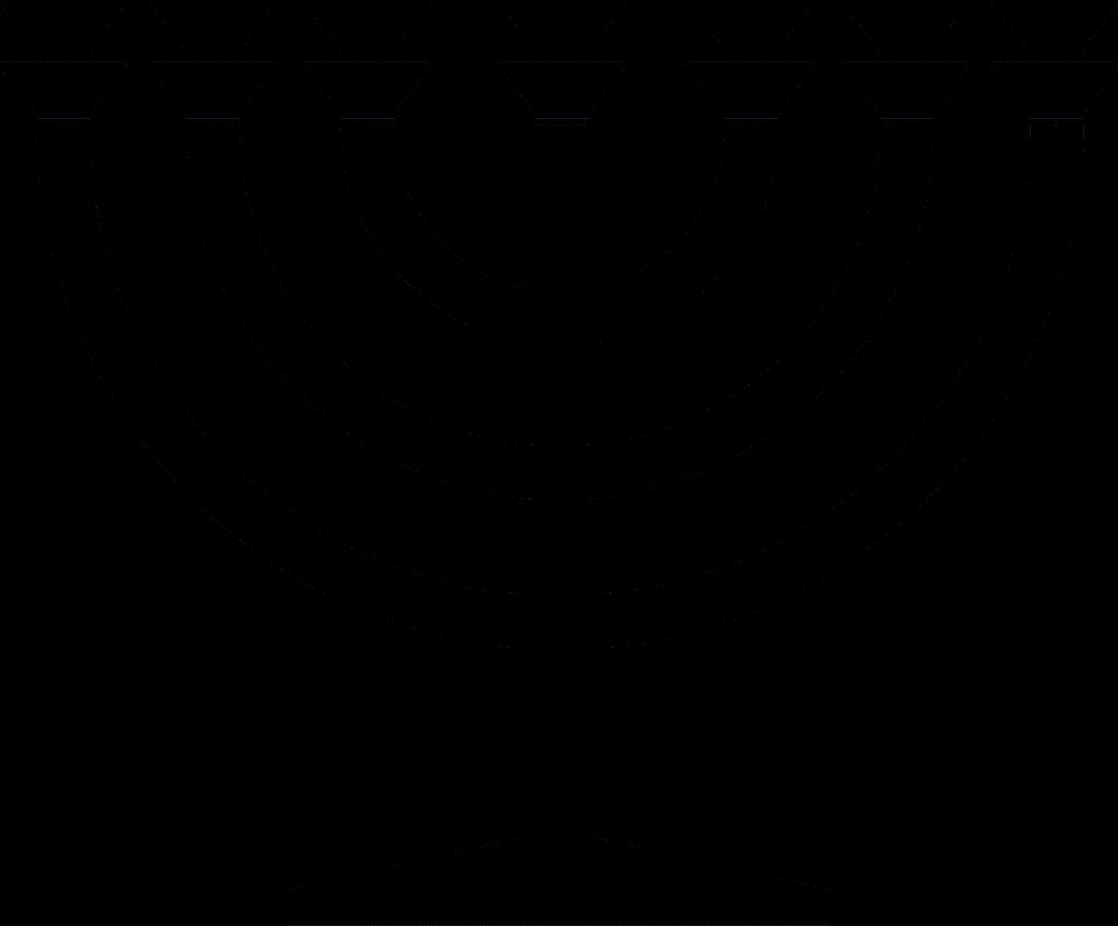 חנוכייה - יודאיקה - איור